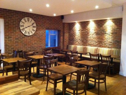 Bricks Coffee House at Newnham Court Shopping Village Maidstone