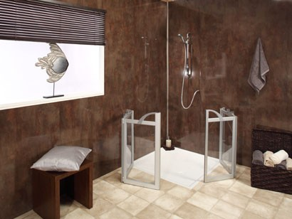 Showers at AHM Bathing, Maidstone