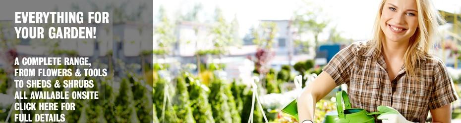 Everything for your garden at Newnham Court Shopping Village Maidstone