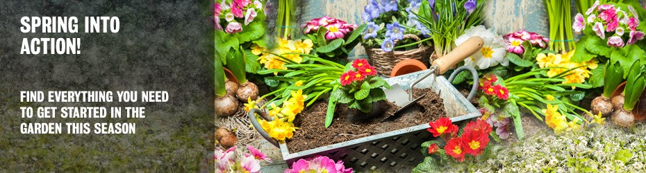Spring is in the air so find everything to get going in the garden this season, at Newnham Court Shopping Village Maidstone