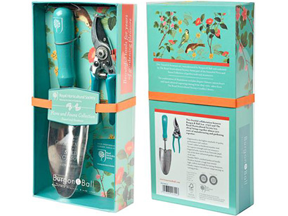Plant pruning and tending tools set image